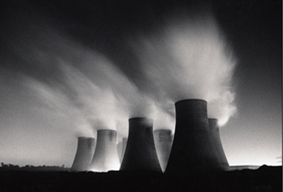 Michael Kenna Ratcliffe Power Station, study 19