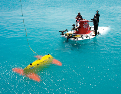 Autonomous Underwater Vehicle ABE/Sentry
