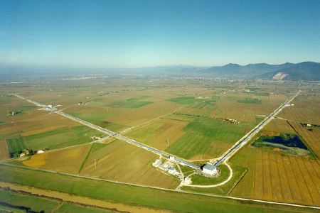 Glasgow University gravitational wave lab; Image 1; Douglas Blane